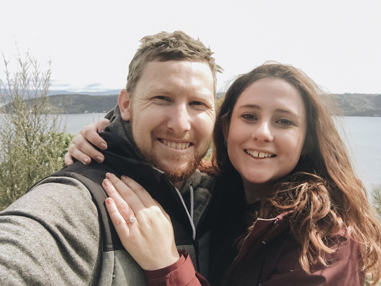 Engaged Couple Proposal Spot
