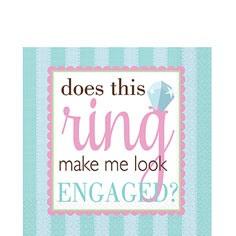 Engagement Party Napkins