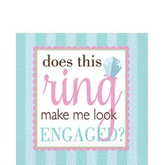 Engagement Party Napkins