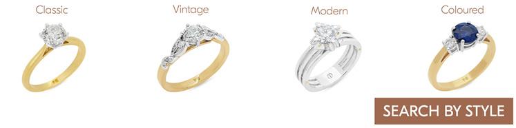 Engagement Rings Styles Wellington