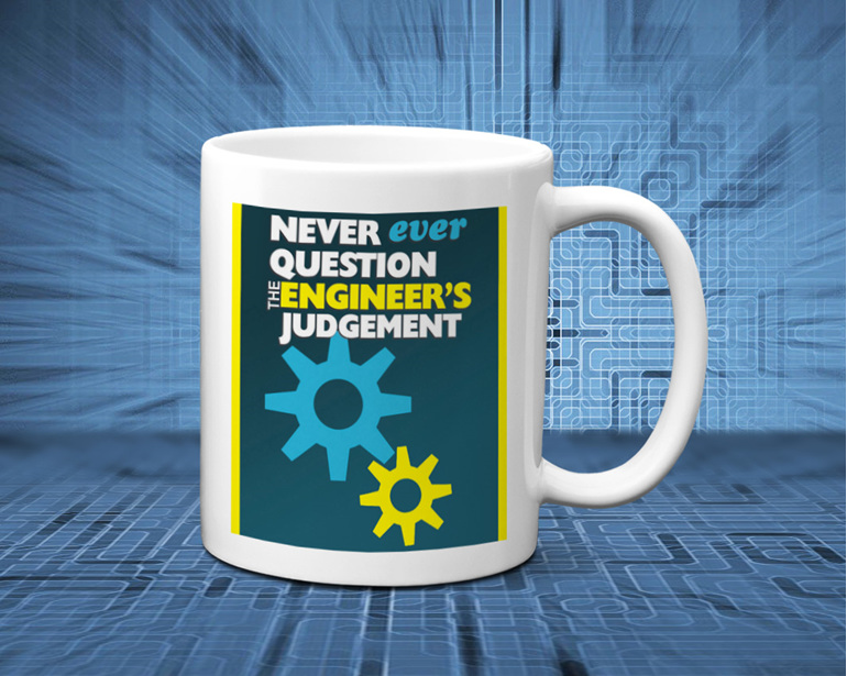 engineer mug funny