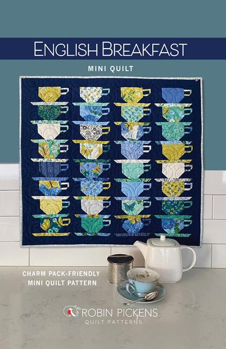 English Breakfast Mini Quilt Pattern from Robin Pickens