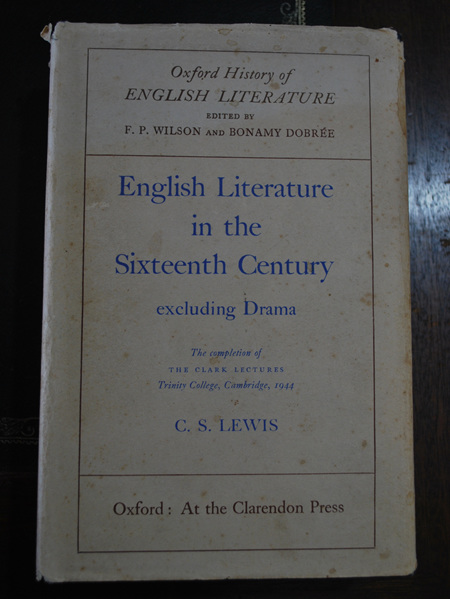 English Literature in the Sixteenth Century excluding Drama