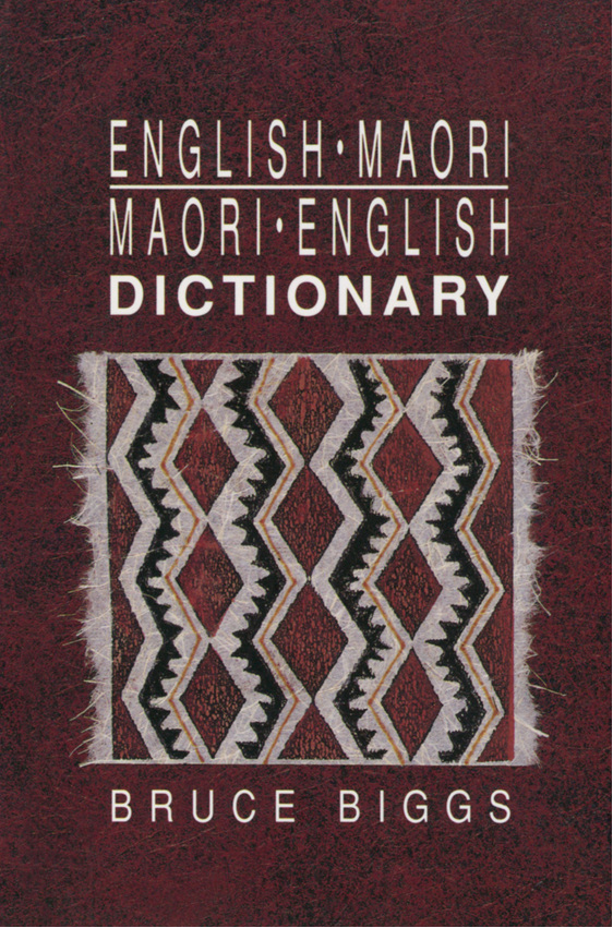 English-Maori-Maori-English Dictionary