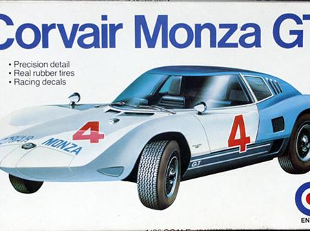 Entex 1/25 Corvair Monza GT