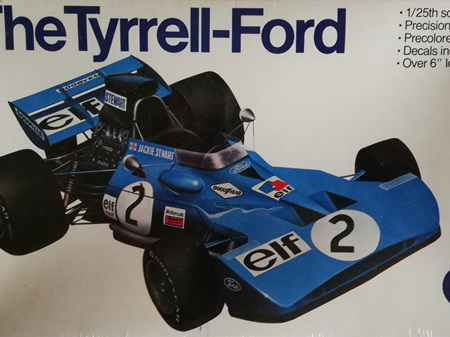 Entex 1/25 Tyrrell Ford