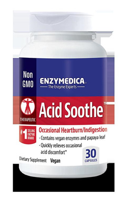 Enzymedica Acid Soothe - 90 capsules (30 capsules in picture)
