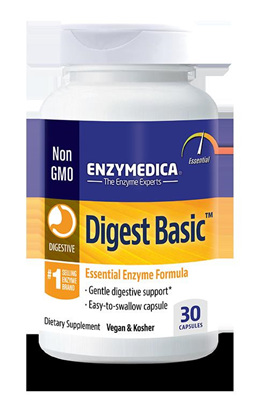 Enzymedica Digest Basic - 90 capsules (30 capsule in picture)