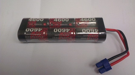 EP 7.2v 4600 mAh NiMh Battery with EC3 Connector