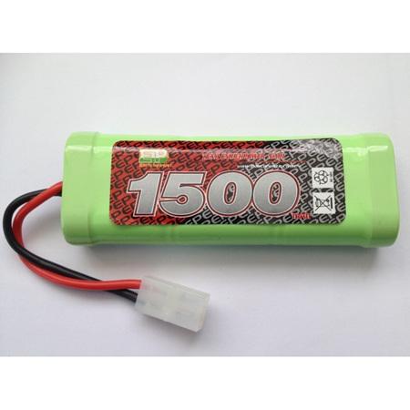 EP 7.2v 1500 mAh NiMh Battery with Tamiya Connector