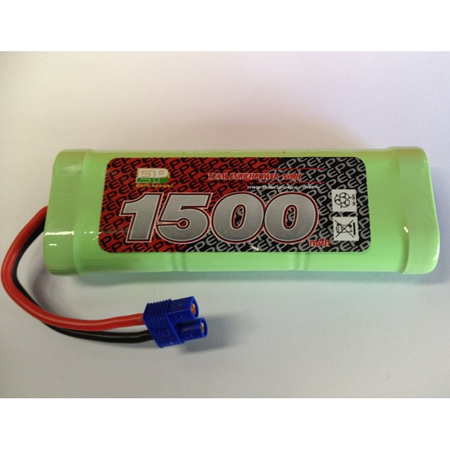 EP 7.2v 1500 mAh NiMh Battery with EC3 Connector