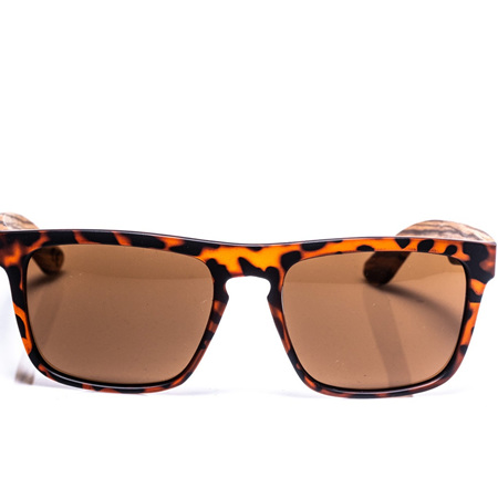 EP2  Wood Arm Sunglasses - Tortoise
