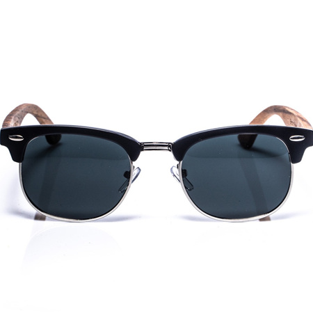 EP3 - Black Sunglasses with Wire Rim & Grey Lens