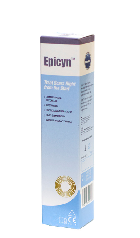 Epicyn, Scar Reducing Gel (Silicone + Microheal, 45g)