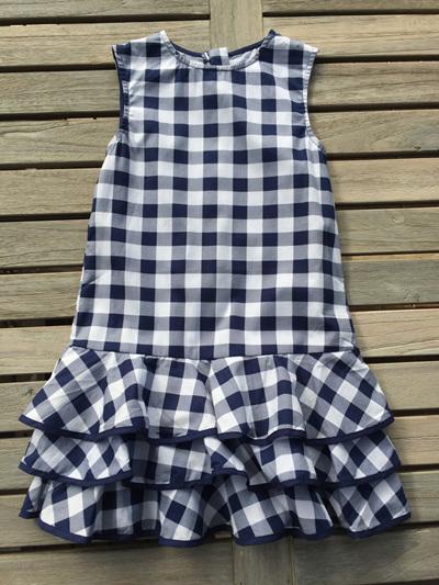 EPK Navy and White Longer line dress