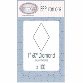 "Epp Iron ons 1"" Diamond"