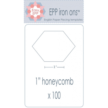 "EPP Iron ons 1"" Honeycomb"