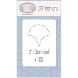 """EPP Iron ons 2"""" Clamshell"""