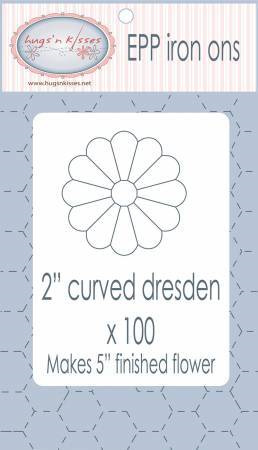 """EPP Iron ons 2"""" Curved Dresden"""