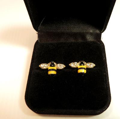 ER50 Bee Stud Earrings