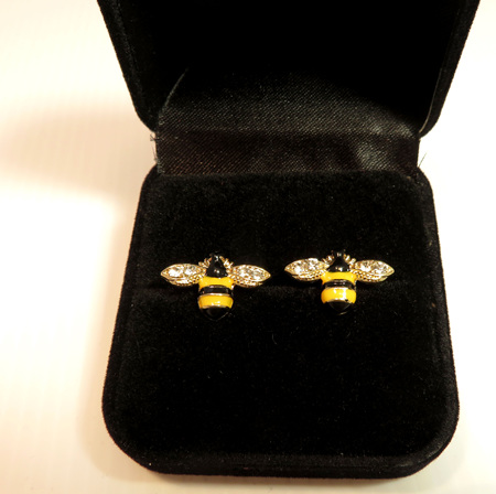 ER50 Bee Stud Earrings