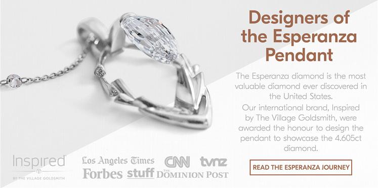 Esperanza Diamond Pendant Design
