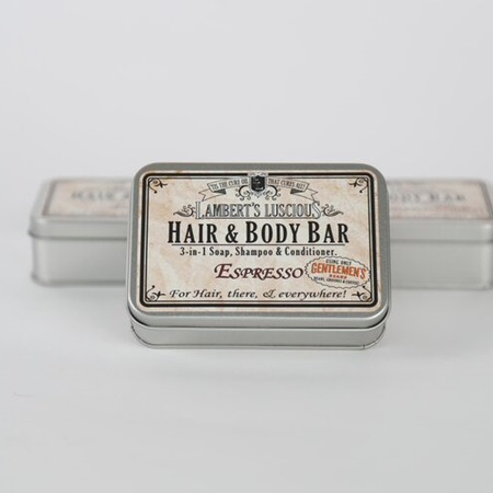 Espresso Hair & Body Bar Tin