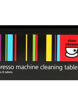 Espresso Machine Cleaning Tablets 8pk Cino Cleano BEC250
