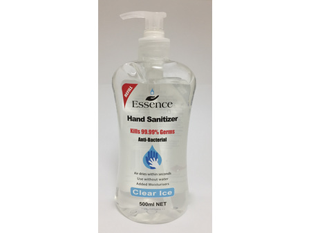 Essence Hand Sanitizer Clear Ice 500ml