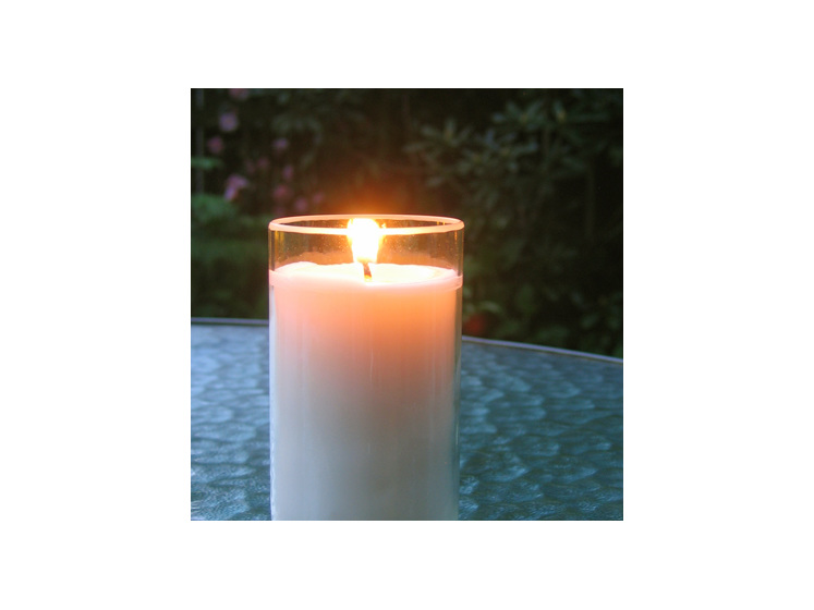 Essential oil beer bottle glass soy candle