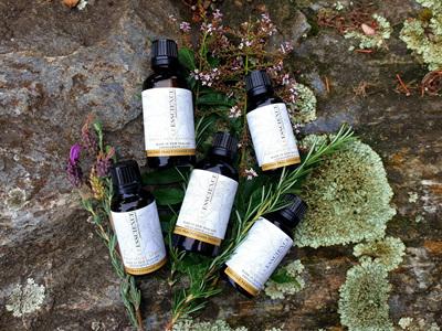 essential oil inhalation treatment synergies