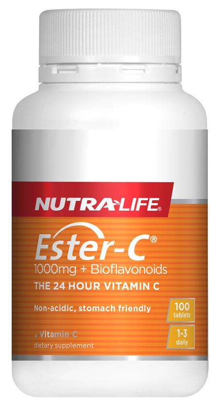 Ester C 1000mg + Biof Tabs - 100 Tabs