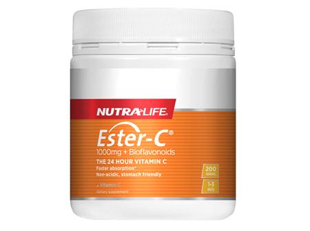 Ester C 1000mg + Biof Tabs - 200 Tabs