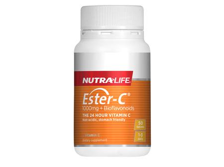 Ester C 1000mg + Biof Tabs - 50 Tabs