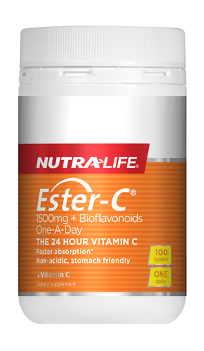 Ester C 1500mg + Biof Tabs One A Day - 100 Tabs