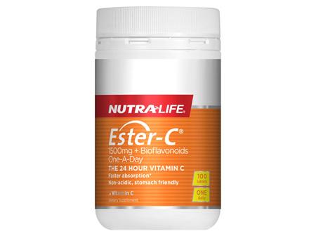 Ester-C 1500mg + Bioflavonoids tablets