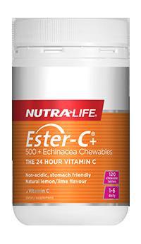 Ester-C® + 500 Echinacea Chewables - 120 tablets