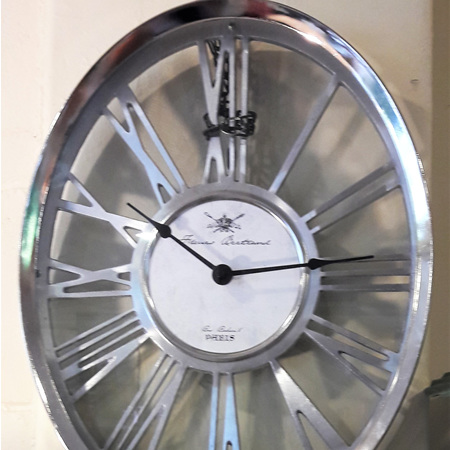 Ester Oval Clock - $255