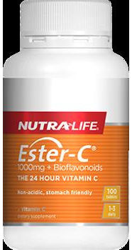 EsterC 1000mg  Bioflavonoids  100 tablets
