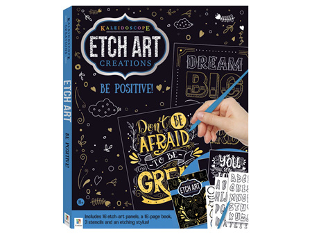 Etch Art Binder Be Positive!
