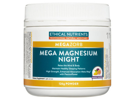 Ethical Nutrient Mega Magnesium Night 129G