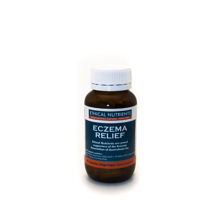 Ethical Nutrients Eczema Relief Capsules