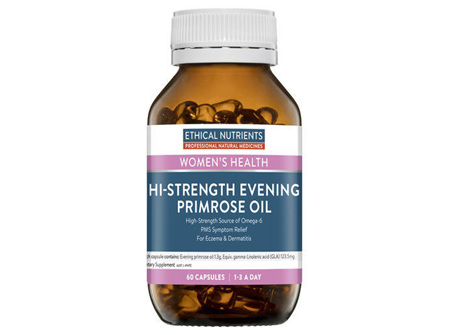 Ethical Nutrients HiStrength Evening Primrose Oil 60 Capsules