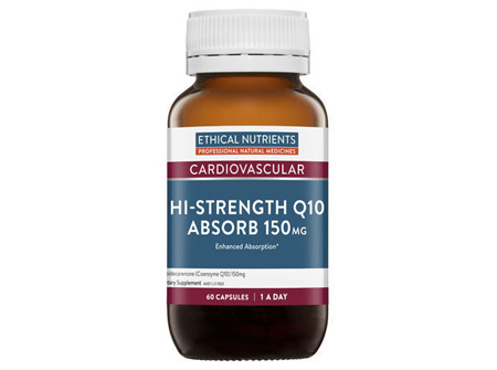 Ethical Nutrients HiStrength Q10 Absorb 150mg 30 Capsules