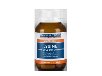 Ethical Nutrients Immuzorb Lysine Viral Cold Sore Defence
