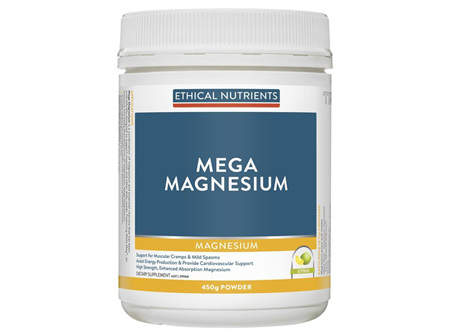 Ethical Nutrients Magnesium Powder Citrus 450g