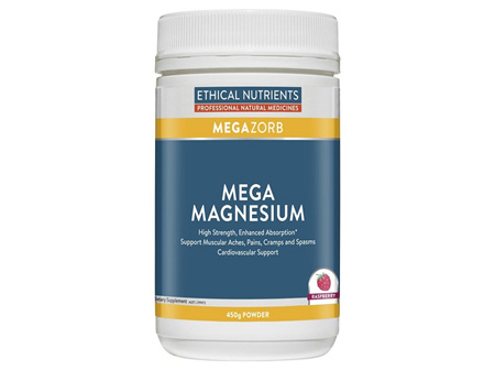Ethical Nutrients Magnesium Powder Raspberry 450g