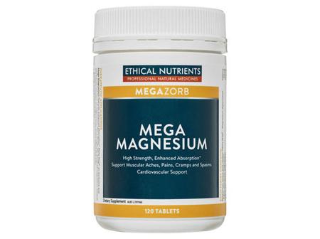 Ethical Nutrients Mega Magnesium 120 Tabs