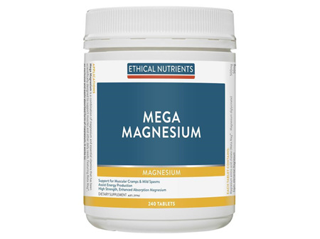 Ethical Nutrients Mega Magnesium 240 Tablets
