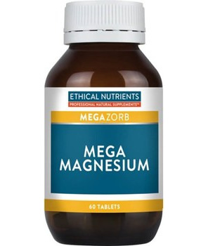 Ethical Nutrients Mega Magnesium Tablets 60s